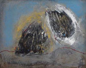 WINDSWEPT, 2020. 80 x 100 cm, acryllic paint on canvas