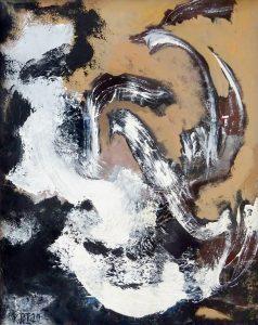 ZARATHUSTRA, 2020. 100 x 80 cm, acryllic paint on canvas